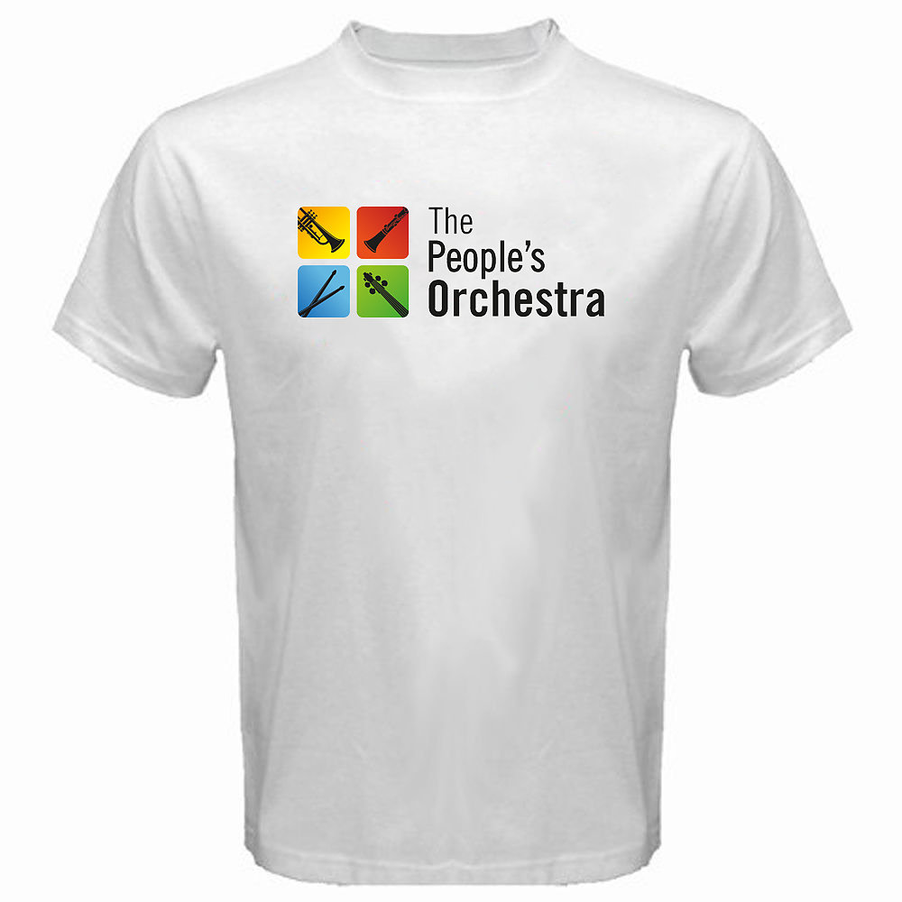 The People's Orchestra T-shirt Logo Style