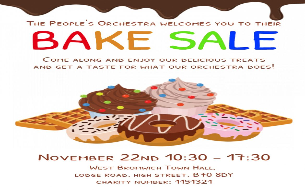The People's Orchestra Bake Sale