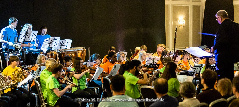 The People's Orchestra playing at Tolkien 2019