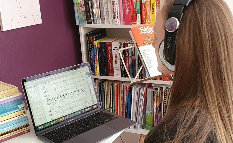 Virtual Rehearsals for the Show Choirs Continue