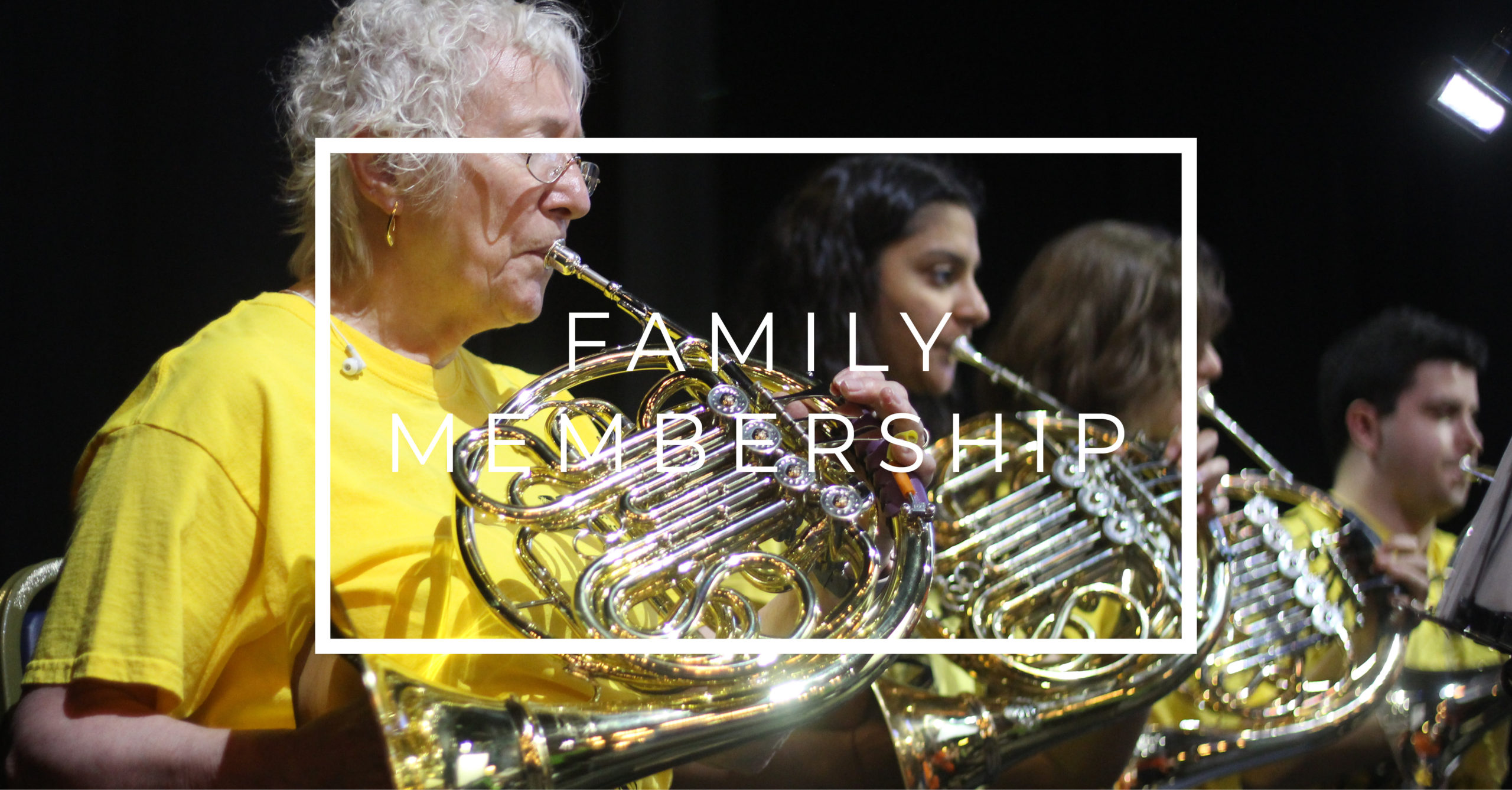 Orchestra Membership – Family
