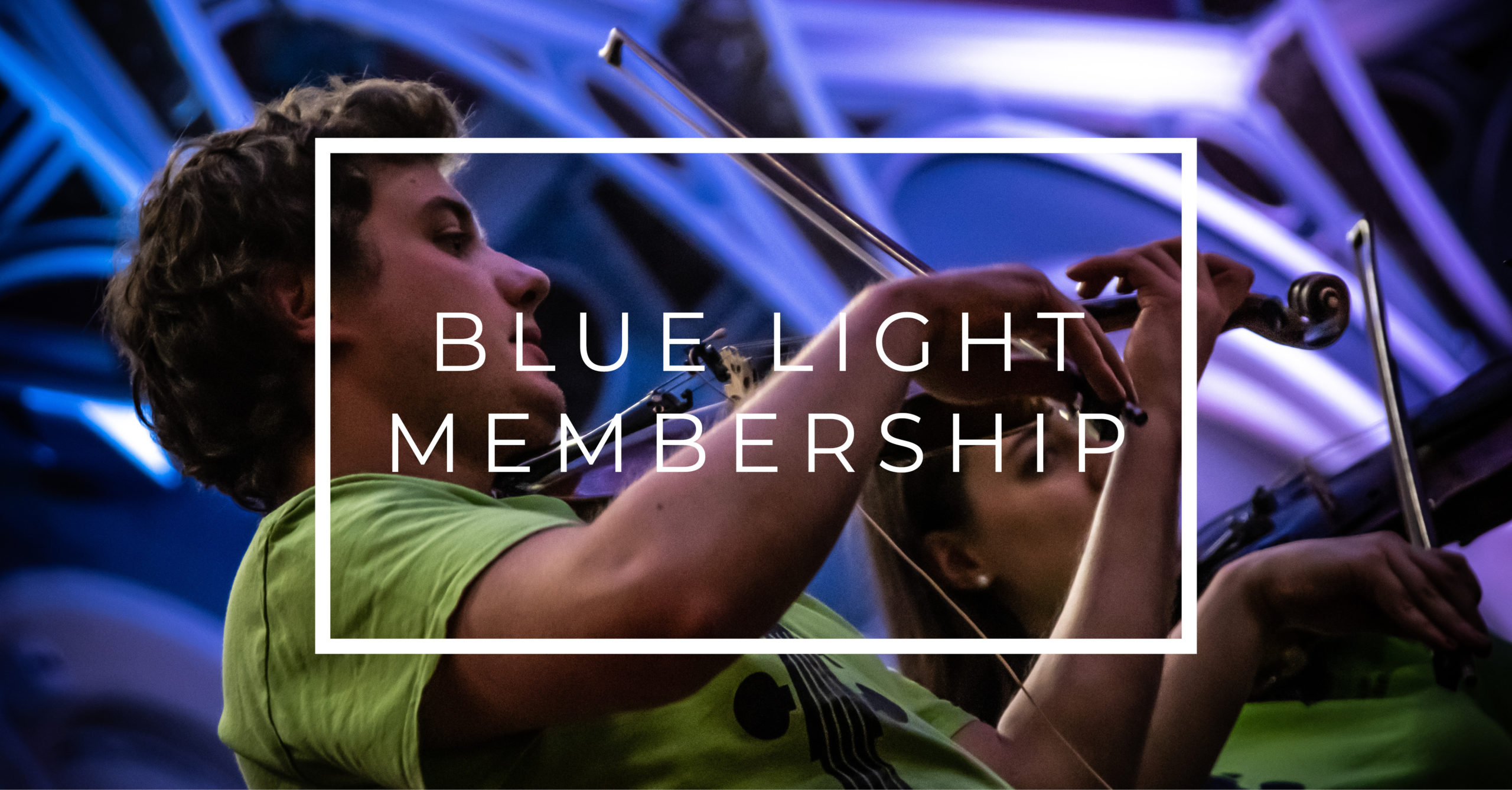 Rusty Membership – Blue Light
