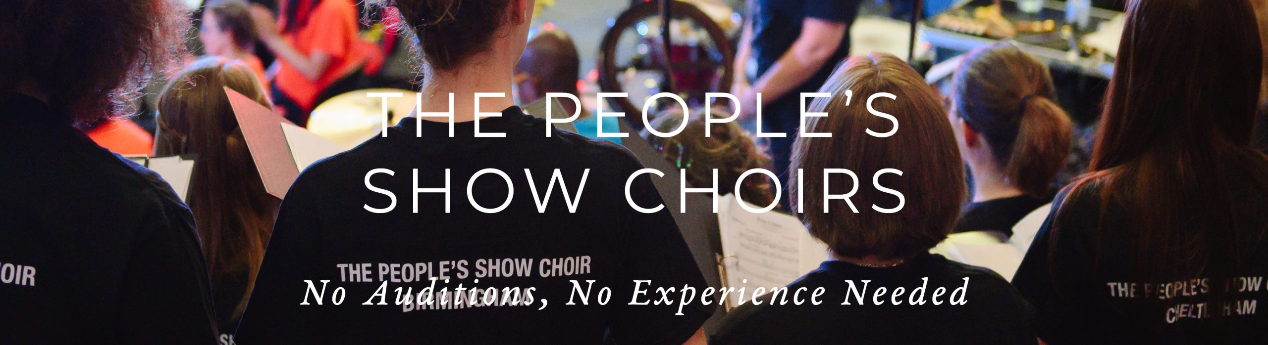 Taster Session: The People's Show Choir