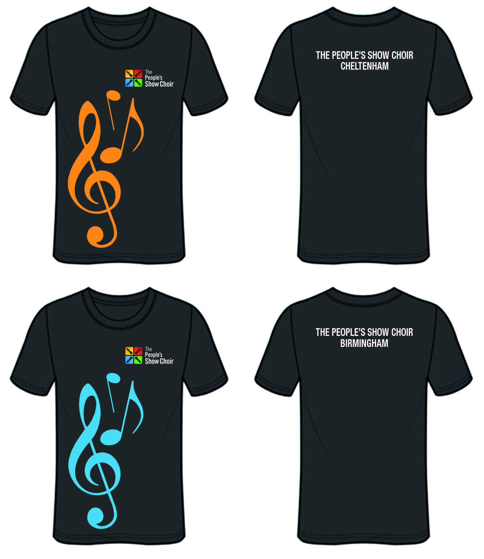 The People's Show Choir T Shirt